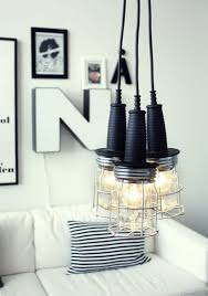 industrial design lighting fixtures. View In Gallery Industrial Styled DIY Pendants Design Lighting Fixtures