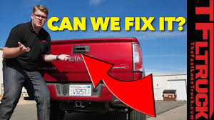 Can It Be Fixed? Pickup Truck Tailgate Backup Camera (Video) - The ...