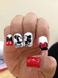 Pin by Jeanette on •{ɴɑɪʟ}ɛԀ ɪт• | Minnie mouse nails, Disney nails, Mickey  mouse nail art