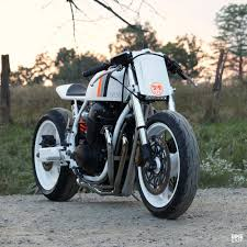 white hot a cafe racer cb750 from new york bike exif