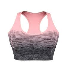 Online Shop VEQKING Gradient <b>High Stretch Sports Bras</b>,Women ...