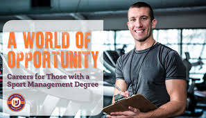Sports Management Careers What Can You Do With A Sport Management Degree