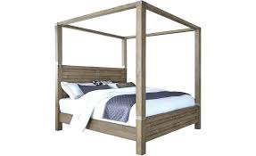 Wood Canopy Bed King Cheap King Bed Frames Canopy Beds King Size ...