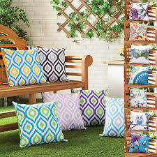waterproof cushions for outdoor furniture. Water Resistant Outdoor Printed Cushions Washable Scatter Garden Cane Furniture Waterproof For