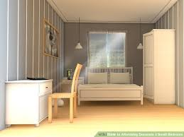 image titled decorate small. Image Titled Affordably Decorate A Small Bedroom Step 6