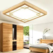 tatami living room tatami wood led ceiling lamp simple bedroom ultra thin living room ceiling lights