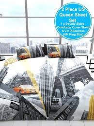 new york city bedding set new city bedding duvet cover sets skyline single double king size new york city bedding sets