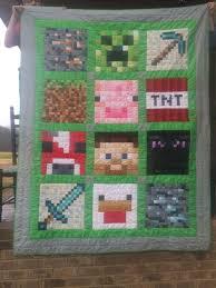 Minecraft Quilt Pattern