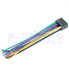 pin jvc car stereo radio wire wiring harness plug cabke hw 16 pin jvc car stereo radio wire wiring harness plug cabke hw