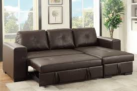 rich brown convertible sectional sofa bed with storage chaise convertible sectional sofa c23