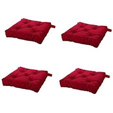 Amazon Ikea Home Living Room Decor Malinda Chair Cushion Red