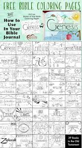 39 Free Bible Coloring Pages And Bible Journal Idea Homeschool