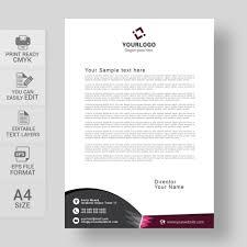 Free Business Letterhead Download Vector Template Wisxi Com