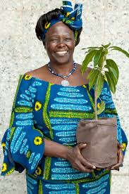 Today is world earth day, we remember nobel prize laureate wangari ...