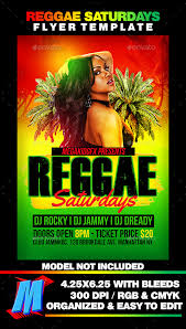 Party Flyer Mesmerizing Jamaican Flyer Templates Outstanding Template Flyer R On Reggae