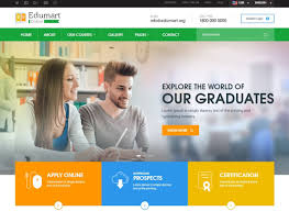 Templates For Education Edumart Html Education Website Template In 2019 Education