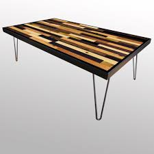 Elegant Tables   Handmade Stained Wood Plank Table Images