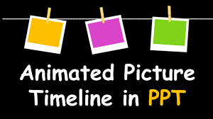 Creative Timelines For Projects Creative Powerpoint Timeline With Photos Cool Animation Tutorial