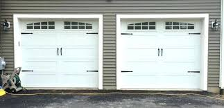 Exterior Carriage Style Garage Doors Kit Excellent On Exterior