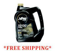 evinrude xd100 oil 44 99 per gallon