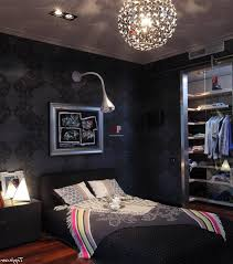 Small Bachelor Bedroom Cool Wall Art For Bachelor Pad Small Bed And Modern Desk Gray