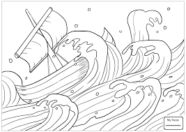 Jonah Coloring Pages Christianity Bible Prophet Jonah Jonah On Boat