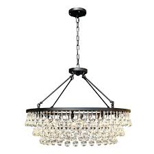 crystal drop chandelier crystal drop round chandelier inside design clarissa crystal drop round chandelier only