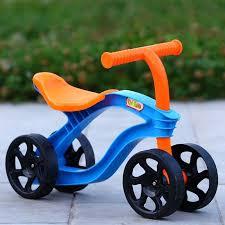 4 Wheels <b>Children Push Scooter Balance</b> Bike Walker Infant Scooter ...