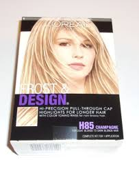L Oreal Paris Frost And Design Highlights Champagne Loreal Frost Design Highlights H85 Champagne Hair Color