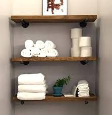 8 depth industrial floating shelf rustic wall shelves 8 depth industrial floating shelf rustic wall shelves