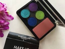 make up for ever refillable makeup system palette xl empty trio palette review