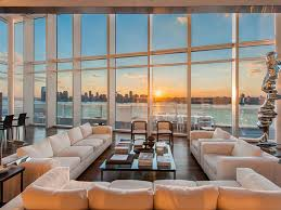 charles street curbed ny glassy richard meier penthouse ups asking price to 40 million
