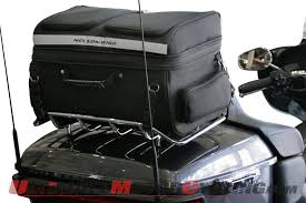 Motorcycle Luggage Rack Bag Inspiration Nelson Rigg GWR32 Rear Rack Pack For Gold Wing Harley Tour Pack