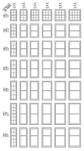 Standard Window Size Chart In 2019 Standard Window Sizes