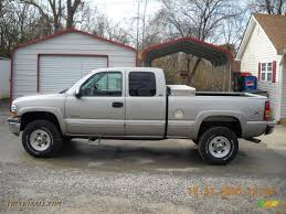2000 Chevrolet Silverado 2500 LS Extended Cab 4x4 in Light Pewter ...