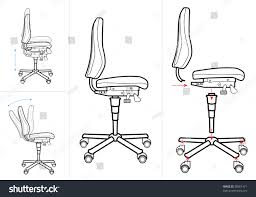office chair drawing. Unique Office Office Chair Instructions Drawing For Chair Drawing E