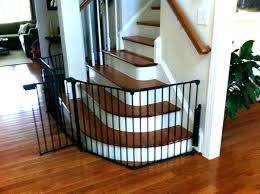 Baby Gates Stairs Wooden Baby Gates For Stairs Wall Mounted Baby ...