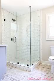 bathroom gray subway tile. Lakehouse Bathroom Gray Cabinet White Subway Tile 5