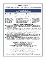 Hr Resume Sample Hr Executive Sample Resume Luxury Impressive Hr Manager Job Resume 17