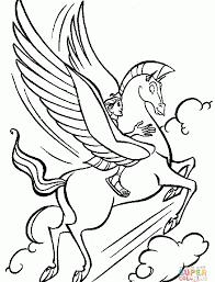 Magnificent Ideas Pegasus Coloring Pages Pegasus Coloring Pages Free