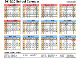 School Calendar Template 2020 17 Get February 2019 School Calendar The Best Printable