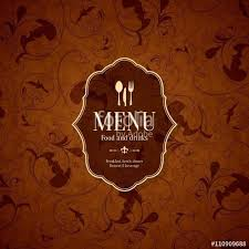 Cafe Menu Design Background | Writings And Essays
