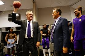 Report: Vikings owners, Zygi and Mark Wilf, 'serious candidate' to buy  Timberwolves - Bring Me The News