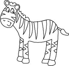 Small Picture Cute Zebra Coloring Pages FunyColoring