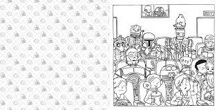 Amazon Com Darth Vader And Family Coloring Book 9781452159232