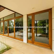 china philippines big glass sliding door and design