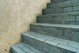 gray tile staircase stock image image of pattern vintage 115014813