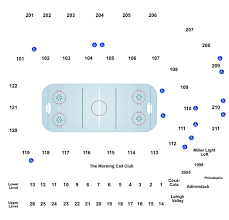 Ppl Arena Allentown Seating Chart Lehigh Valley Phantoms Vs Rochester Americans Tickets At
