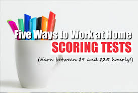 looking for work at home test scoring jobs here are legit options