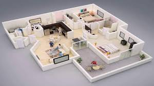 2 bedroom house plans ghana